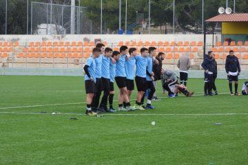 Η Ομάδα Ποδοσφαίρου του 2ου ΓΕΛ Βούλας στον Αγώνα με το ΕΠΑΛ Βάρης (5-3)